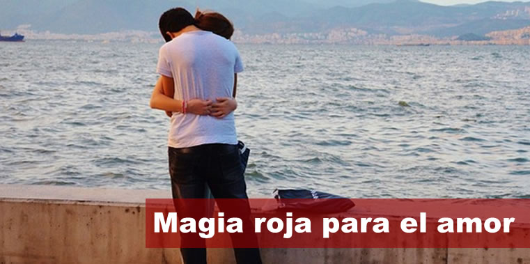 magia roja para el amor