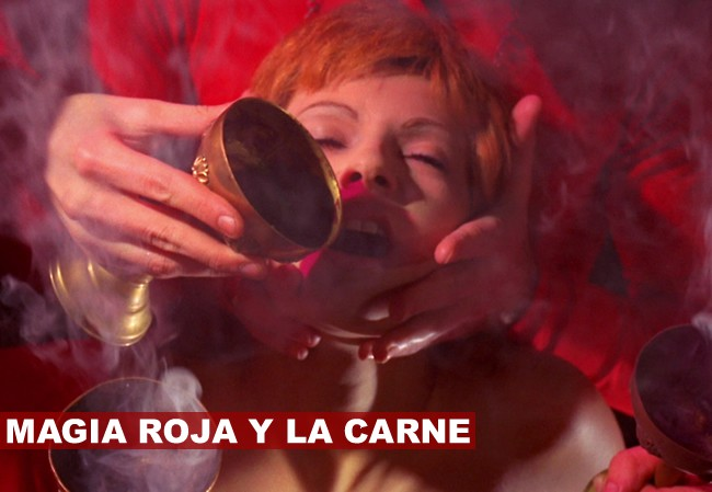 ritual orgasmo y magia roja