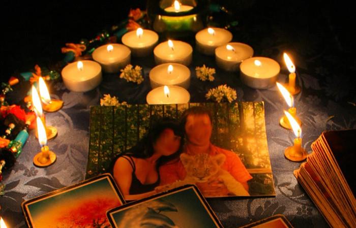 hechizo de amor con foto y velas