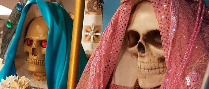 oración a la santa muerte para separar a dos personas